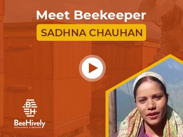 Meet Beekeeper Sadhna Chauhan